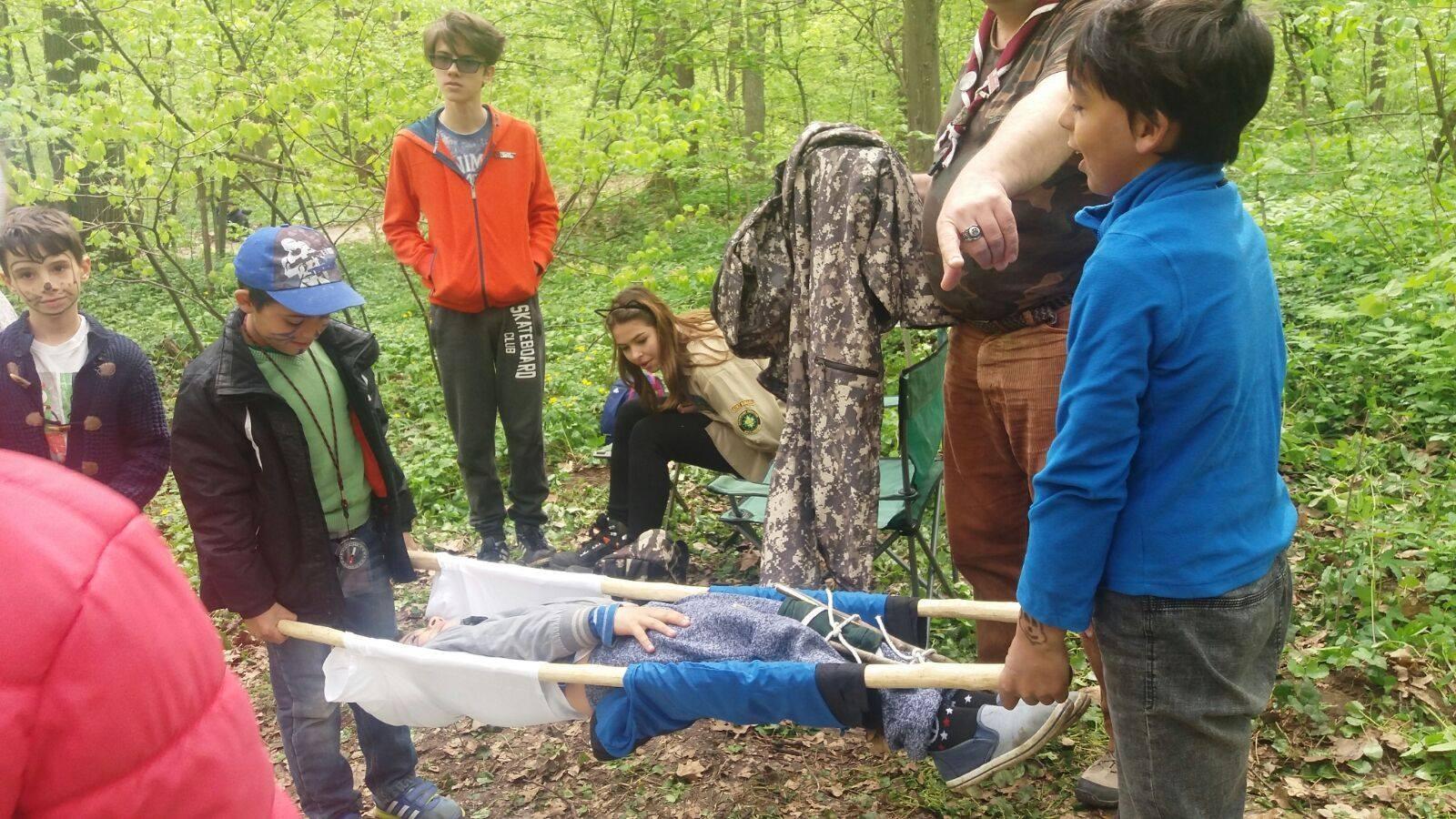 Micii cercetași-Pădurea Băneasa